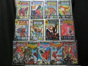 SPITFIRE 1-13 Lady Iron Man,  Todd McFarlane art !