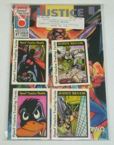 Spoof Comics Presents #7 VF/NM trading card edition (#87 of 1,200) adam hughes