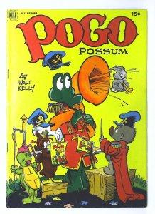 Pogo Possum #10, Fine- (Actual scan)