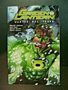 Green Lantern Wanted: Hal Jordan TPB DC Comics NM Condition