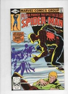 Peter Parker SPECTACULAR SPIDER-MAN 43 VF/NM, BellaDonna 1976 1980 more in store