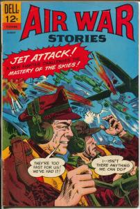 Air War Stories #8-1966-Dell-Korean War-WWII-Sam Clanzman-FN