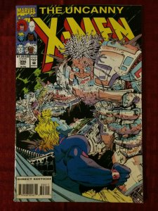 Uncanny X-Men #306 Marvel Comics 1993 VF+ Archangel Jean Grey Gold Team