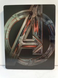 Avengers Age of Ultron (Blu-ray) STEELBOOK
