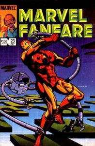 Marvel Fanfare (1982 series) #23, NM + (Stock photo)