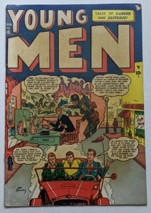 Young Men #10 (Aug 1951, Atlas) G/VG 3.0 Joe Maneely cover