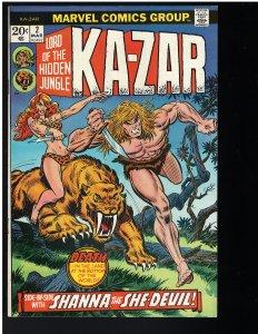 Ka-Zar #2 (1974)