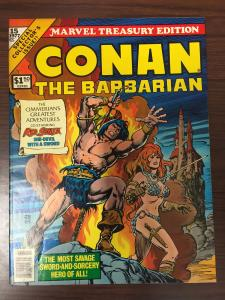 Marvel Treasury Edition Conan The Barbarian #15-1977-High Grade