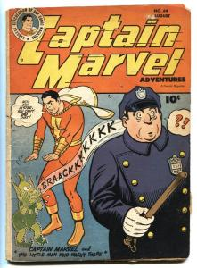CAPTAIN MARVEL ADVENTURES #64 1946-Cop cover-Golden-Age