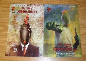Silent Assassin: Understanding Trauma #1 VF/NM +signed limited edition ONLY 100!