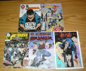 the Bruiser #1-3 VF/NM complete series + one-shot + variant - jimmy palmiotti