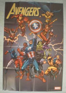 AVENGERS Promo poster, THOR, HULK, 24x36, 2005, Unused, more Promos in store