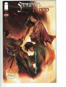 Samurai's Blood #1 VF/NM signed by Owen Wiseman - Image comics