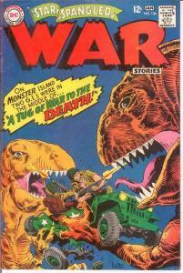 STAR SPANGLED WAR 136 VG-F  January 1968 COMICS BOOK