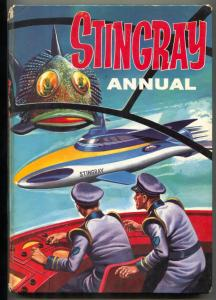 Stingray Annual 1965- Origin issue- UK hardcover VG-