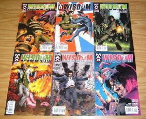Wisdom #1-6 VF/NM complete series - excalibur spinoff - pete wisdom - marvel max