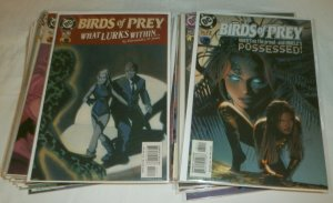 Birds of Prey #51-90 + (missing 6) Black Canary/Oracle/Huntress, comics lot of 6