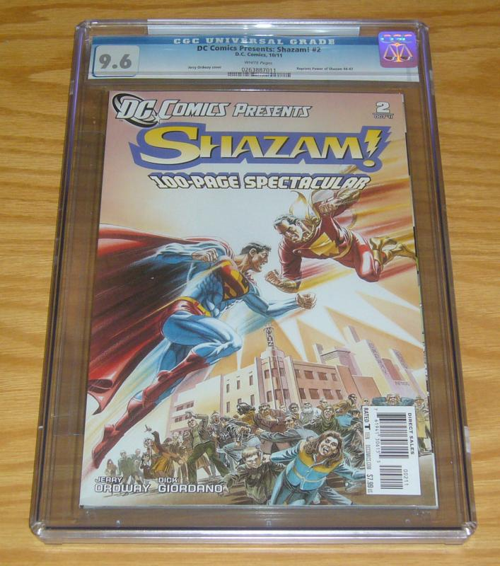DC Comics Presents: Shazam! 100-Page Spectacular #2 CGC 9.6 captain marvel
