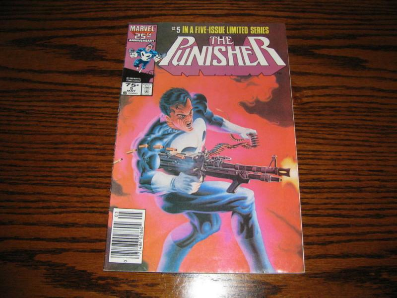 PUNISHER #5, VG, Mike Zeck, Mini Series, 1986, Marvel, more in store