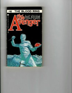 3 Books Avenger The Blood Ring The Corfu Affair The Boys of Summer Mystery JK13