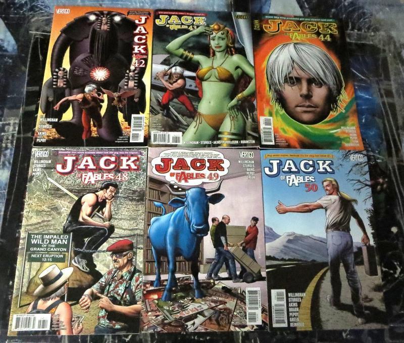Jack of Fables Collection #2!  24 books from 21-50! VF/+  Vertigo, Willingham