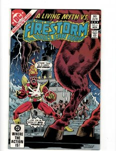 The Fury of Firestorm #6 (1982) SR7