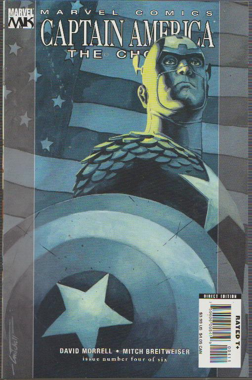 SALE! - CAPTAIN AMERICA THE CHOSEN #4 of 6 - MARVEL, BAGGED & BOARDED