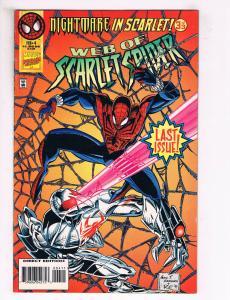 Web Of Scarlet Spider #4 FN Marvel Comics Comic Book Avengers Feb 1996 DE34