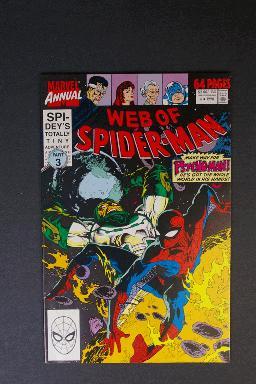 Web of Spider-Man Annual #6 1990 Psycho-Man