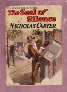 NEW MAGNET LIBRARY-#1068-SEAL OF SILENCE-NICK CARTER FR