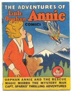 Adventures of Little Orphan Annie 1941- Quaker Puffed Sparkies