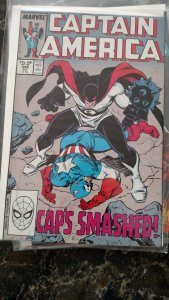 Captain America #348 (Marvel,1988) Condition NM