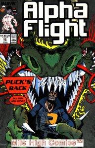 ALPHA FLIGHT (1983 Series)  #59 Fine Comics Book
