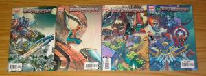 Mega Morphs #1-4 VF/NM complete series - sean mckeever - spider-man/wolverine