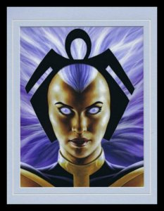 Storm X Men Framed 11x14 Marvel Masterpieces Poster Display