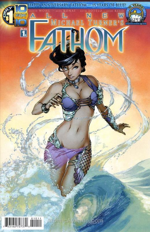 Fathom (7th Series) #1A VF/NM; Aspen | save on shipping - details inside
