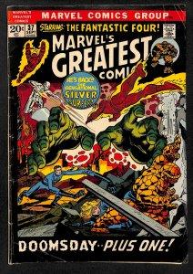 Marvel's Greatest Comics #37 (1972)