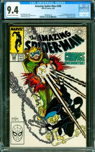 Amazing Spider-Man #298 CGC Graded 9.4 1st Todd McFarlane Spider-Man. 1st app...