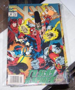 X-Men CLASSICS # 95  MAR 1994  Marvel REPRINTS  UNCANNY X MEN 191 SELENE NIMROD