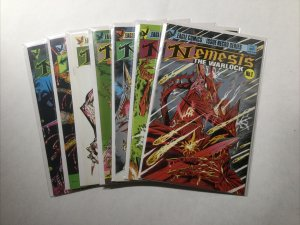 Nemisis The Warlock 1 2 3 4 5 6 7 Lot Run Set Near Mint Nm Eagle Comics