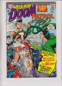 Doom Patrol #104 FN- june 1966 - elasti-girl marries mento - wedding issue - DC