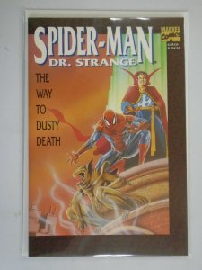 Spider-Man Doctor Strange The Way to Dusty Death #1 8.5 VF+ (1992 1st Edition)