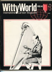 Witty World #4 1988-International Cartoon Magazine-Phil Yeh-Milt Caniff-FN
