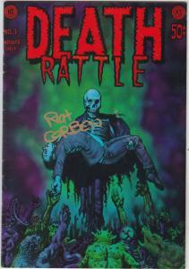 Death Rattle (signed) #1 (Jun-72) VF High-Grade