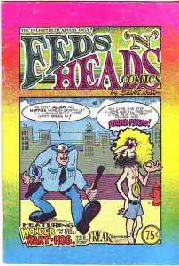 Feds 'N' Heads Comics #1 (Jan-68) FN- Mid-Grade The Freak Brothers (Phineas, ...
