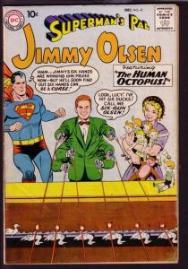 SUPERMAN'S PAL JIMMY OLSEN #41 1959-CARNIVAL GAME COVER VG