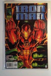 Iron Man #1 (1996) Variant B Marvel 8.5 VF+ Comic Book