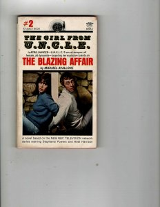 3 Books The Blazing Affair Help Wanted - For Murder The Living Fire Menace JK23
