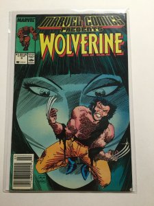 Marvel Comics Presents 3 Near Mint Nm Wolverine Newsstand Edition Marvel