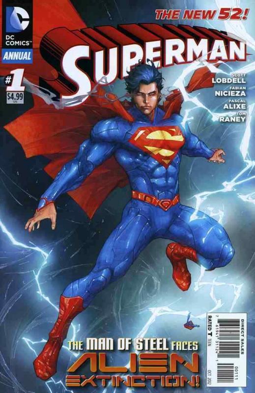 SUPERMAN ANNUAL (2012 DC) #1 NM- A96272